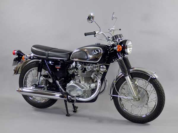 honda cb 450 k1 1968 paris moto classique. Black Bedroom Furniture Sets. Home Design Ideas